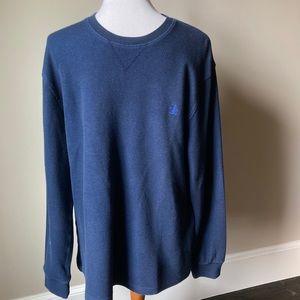 Original Penguin navy thermal shirt